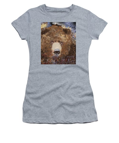 Visionary Bear Final  Women's T-Shirt (Athletic Fit)
