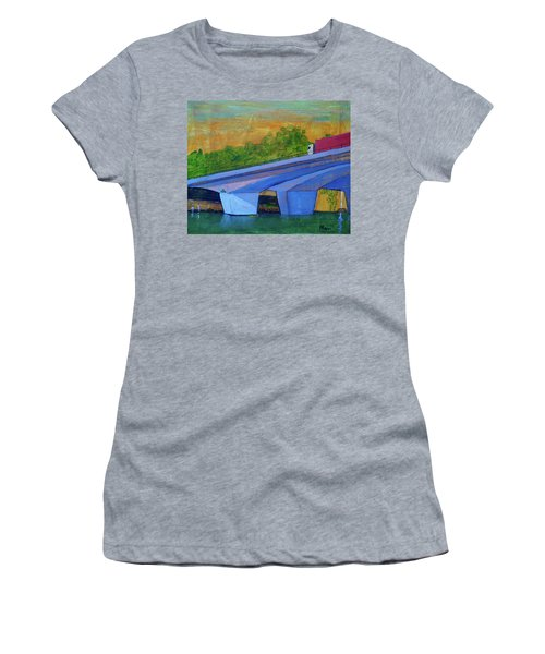 Brunswick River Bridge Women's T-Shirt (Athletic Fit)