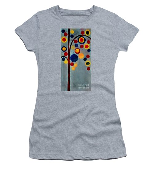 Bubble Tree - Dps02c02f - Right Women's T-Shirt (Athletic Fit)
