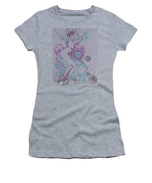 Bubbles Women's T-Shirt (Athletic Fit)