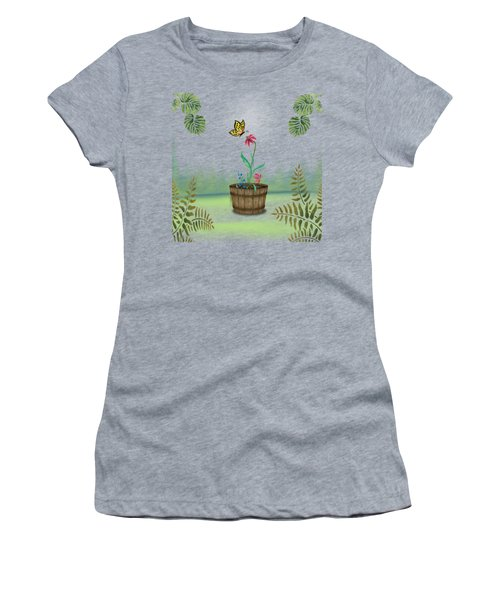 Bucket Butterfly 1 Women's T-Shirt