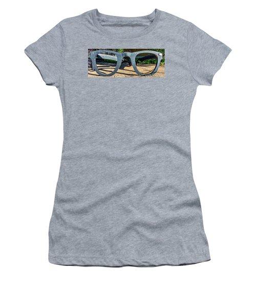 Buddy Holly Glasses Women's T-Shirt