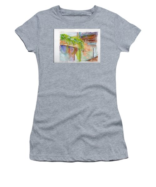Bull Street Savannah Ga Women's T-Shirt (Athletic Fit)