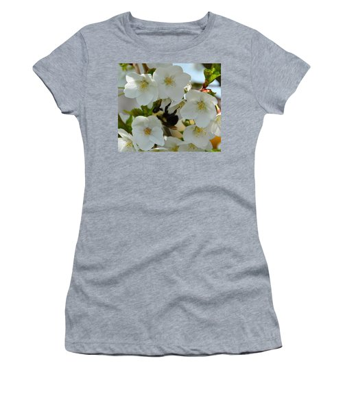 Bumble Bee In Hiding Women's T-Shirt