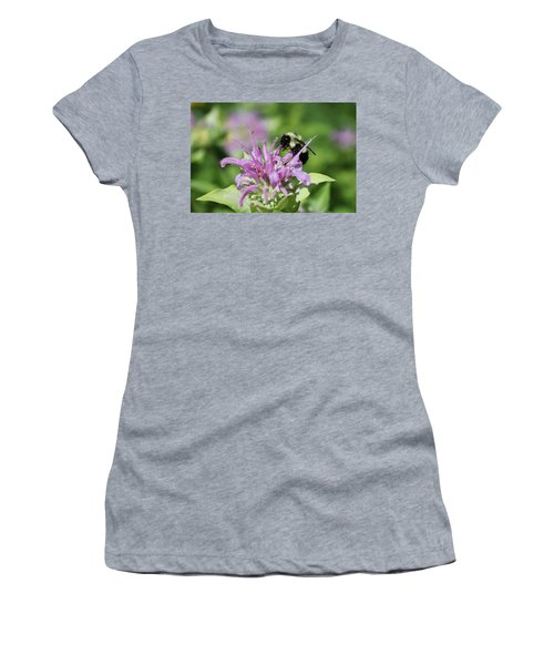 Bumblebee On Bee Balm Women's T-Shirt