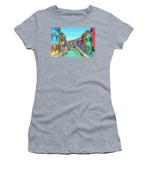 Burano Sketch Women's T-Shirt