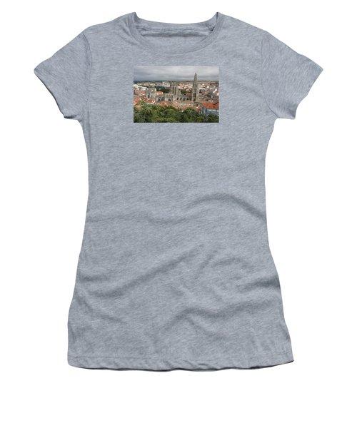 Women's T-Shirt (Junior Cut) featuring the photograph Burgos by Christian Zesewitz