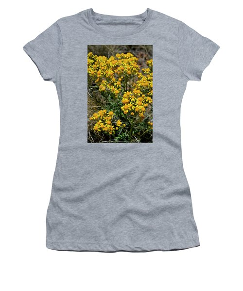 Burst Of Yellow Women's T-Shirt