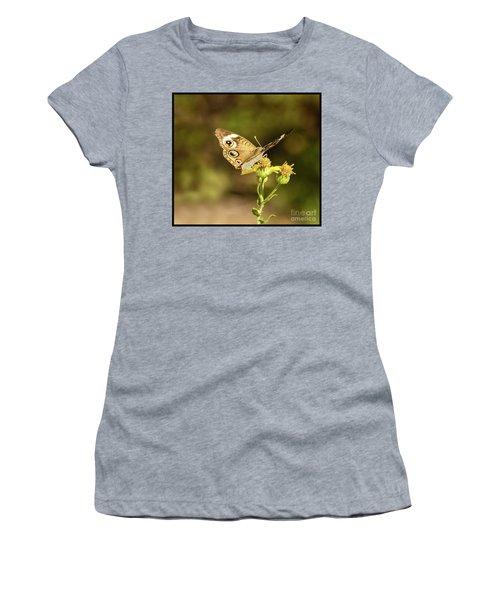 Butterfly In Bokeh Women's T-Shirt (Junior Cut) by Steven Parker