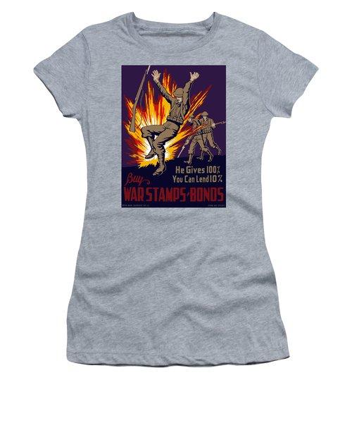 Buy War Stamps And Bonds Women's T-Shirt