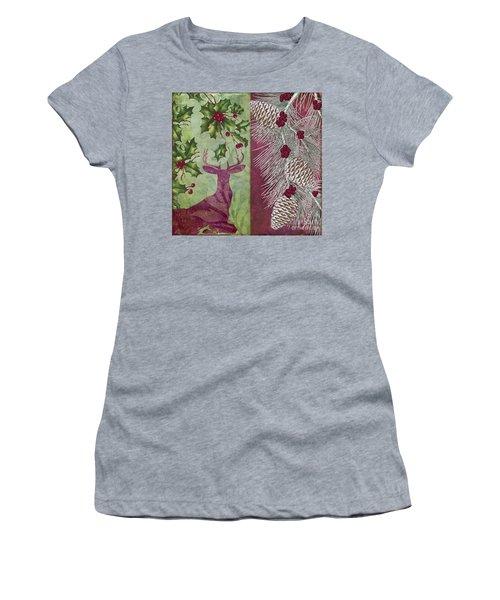 Cabin Christmas I Women's T-Shirt
