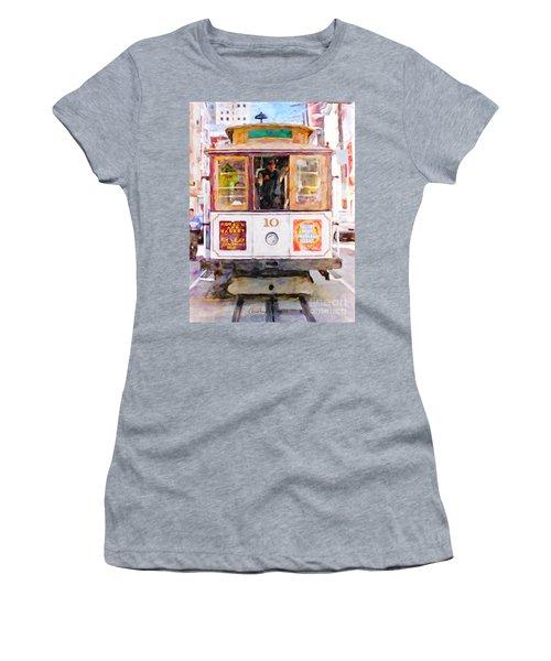 Cable Car No. 10 Women's T-Shirt