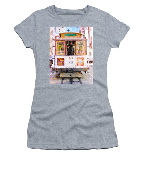 Cable Car No. 10 Women's T-Shirt
