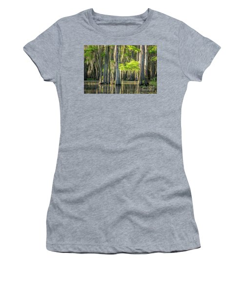 Caddo Swamp 1 Women's T-Shirt (Athletic Fit)