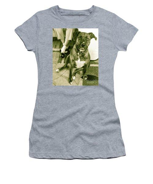 Women's T-Shirt (Junior Cut) featuring the photograph Caeser 6 by Robin Coaker