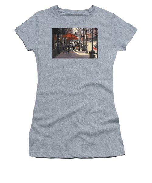 Cafe Lodo Women's T-Shirt (Athletic Fit)