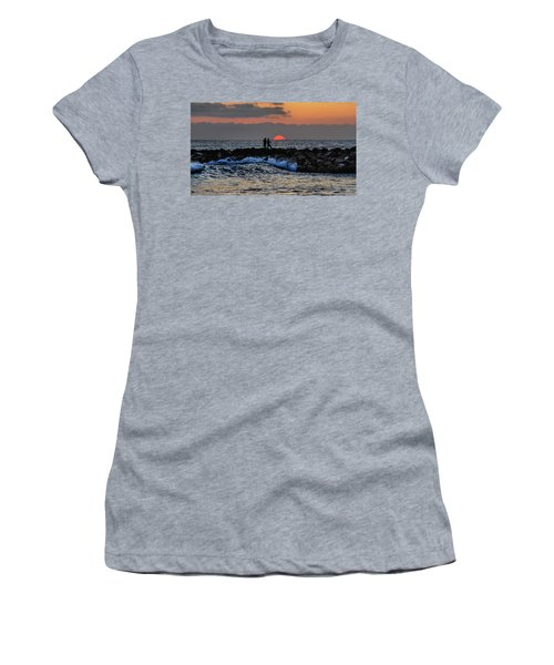 California Evening With Sandstone Effect Women's T-Shirt