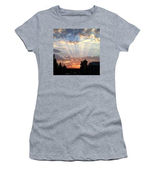 #california #sunset #nature Women's T-Shirt
