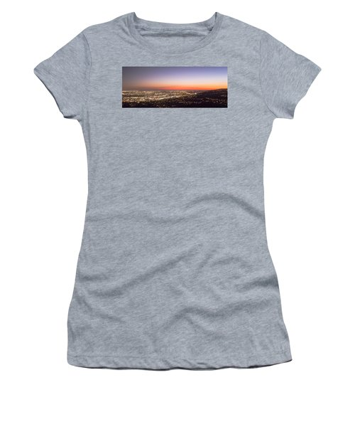 Californian Sunset Women's T-Shirt (Athletic Fit)