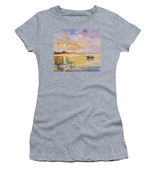 Calm Morning Women's T-Shirt (Junior Cut) by Irek Szelag