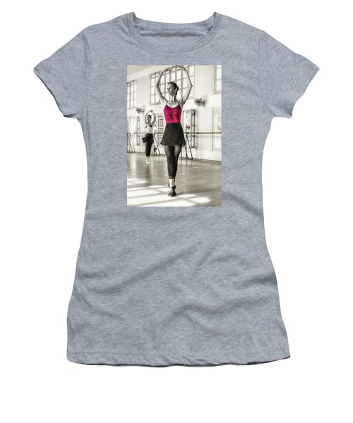 Women's T-Shirt featuring the photograph Camaguey Ballet 1 by Lou Novick