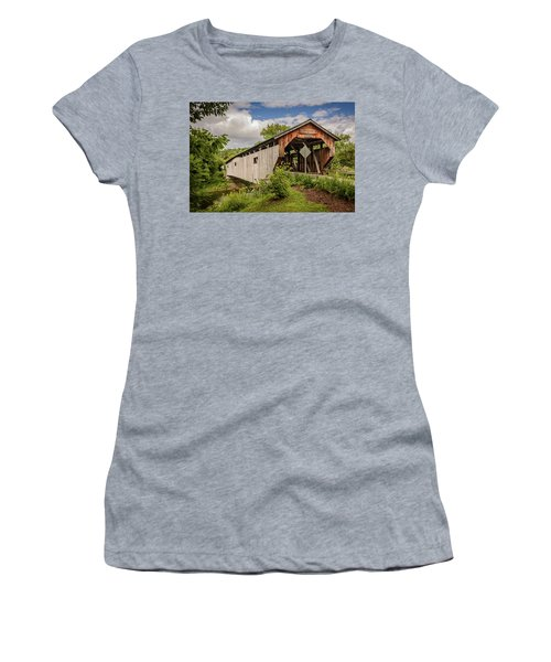 Cambridge Junction Bridge Women's T-Shirt (Athletic Fit)
