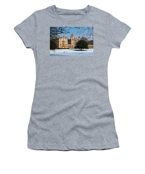 Cambridge Snowscape Women's T-Shirt (Athletic Fit)