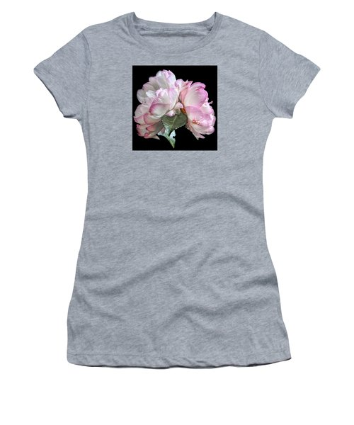 Camelia Women's T-Shirt (Junior Cut) by Susi Stroud