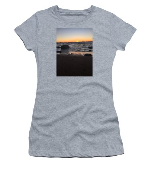 Camp In The Fall Women's T-Shirt (Athletic Fit)