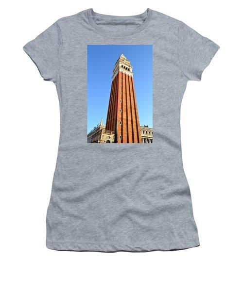 Campanile Di San Marco In Venice Women's T-Shirt