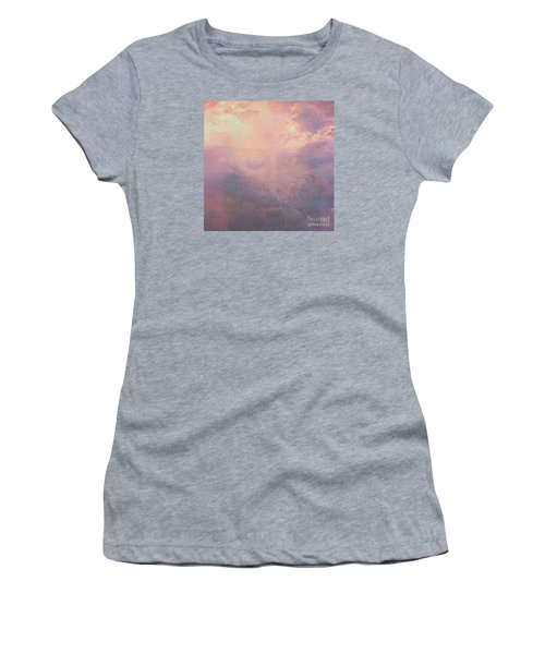 Women's T-Shirt (Junior Cut) featuring the digital art Can You See Him? by Mindy Bench