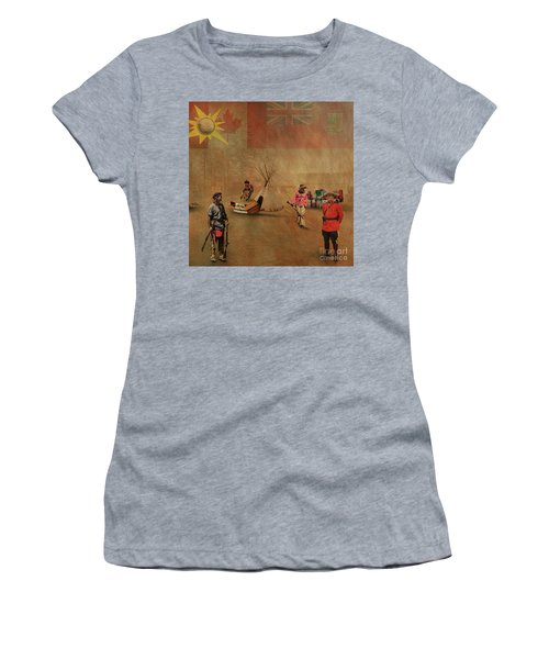Canada 150 Years Old Women's T-Shirt (Athletic Fit)