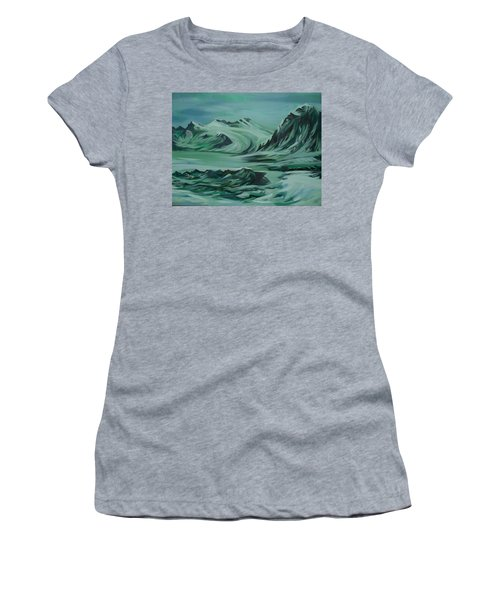 Canadian North Women's T-Shirt (Junior Cut) by Anna  Duyunova