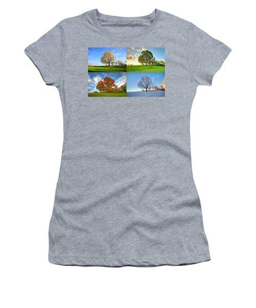 Canadian Seasons Women's T-Shirt