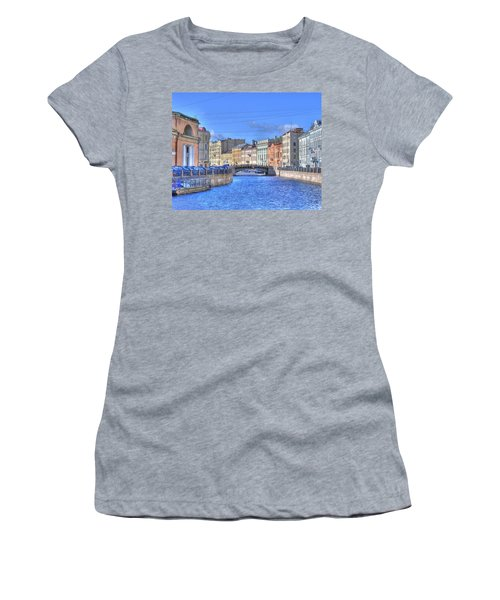 Canal In St. Petersburgh Russia Women's T-Shirt