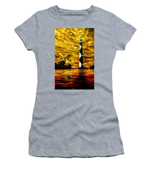 Candle On The Water Women's T-Shirt
