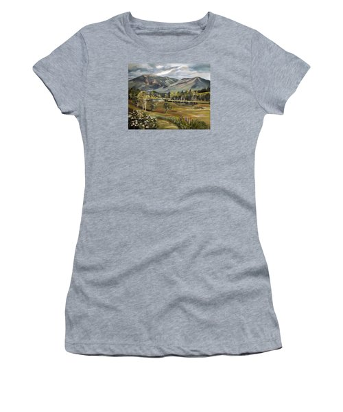 Cannon Mountain From Sugar Hill New Hampshire Women's T-Shirt