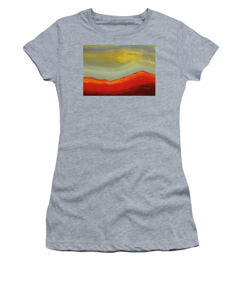 Canyon Outlandish Original Painting Women's T-Shirt