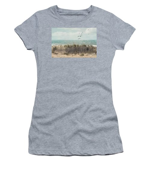 Cape Cod Beach Scene Women's T-Shirt