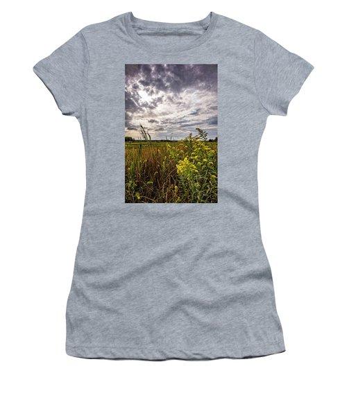Cape Cod Marsh 4 Women's T-Shirt (Junior Cut)