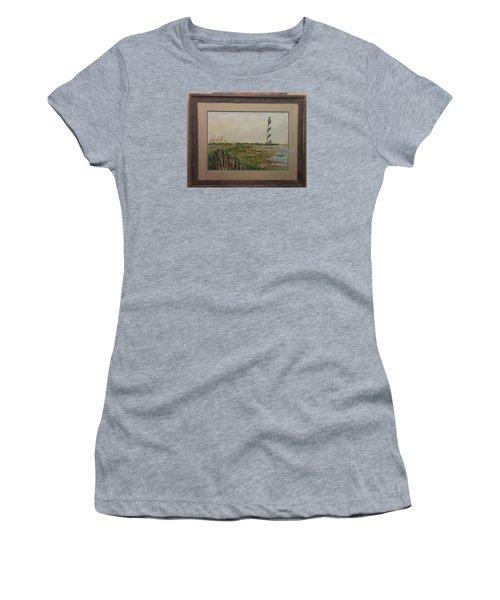 Cape Hatteras Light House Women's T-Shirt (Junior Cut) by Richard Benson