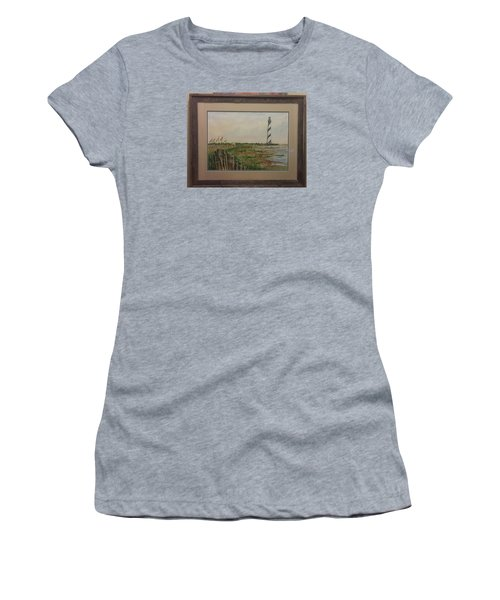 Cape Hatteras Light House Women's T-Shirt (Athletic Fit)