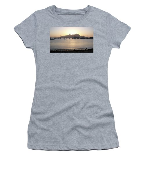 Cape Verde Sunset Women's T-Shirt (Athletic Fit)