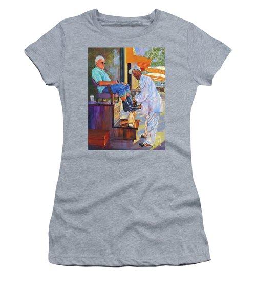 Captain Shoe Shine Women's T-Shirt