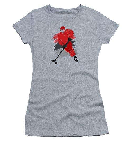 Carolina Hurricanes Player Shirt Women's T-Shirt (Junior Cut) by Joe Hamilton