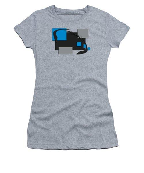 Carolina Panthers Abstract Shirt Women's T-Shirt
