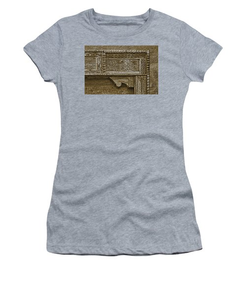 Women's T-Shirt (Junior Cut) featuring the photograph Carving - 4 by Nikolyn McDonald