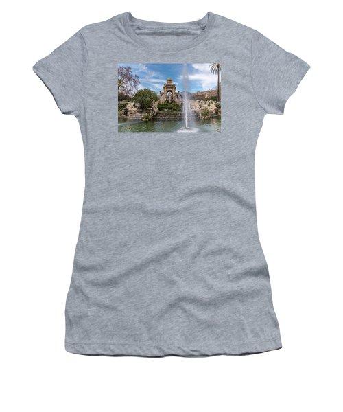 Cascada Monumental Women's T-Shirt (Junior Cut) by Randy Scherkenbach