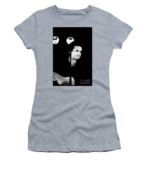 Women's T-Shirt (Junior Cut) featuring the photograph Cash by Paul W Faust - Impressions of Light