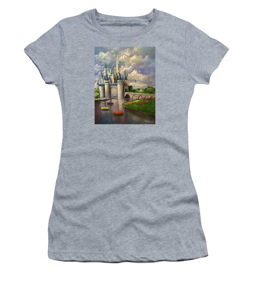 Castle Of Dreams Women's T-Shirt (Athletic Fit)